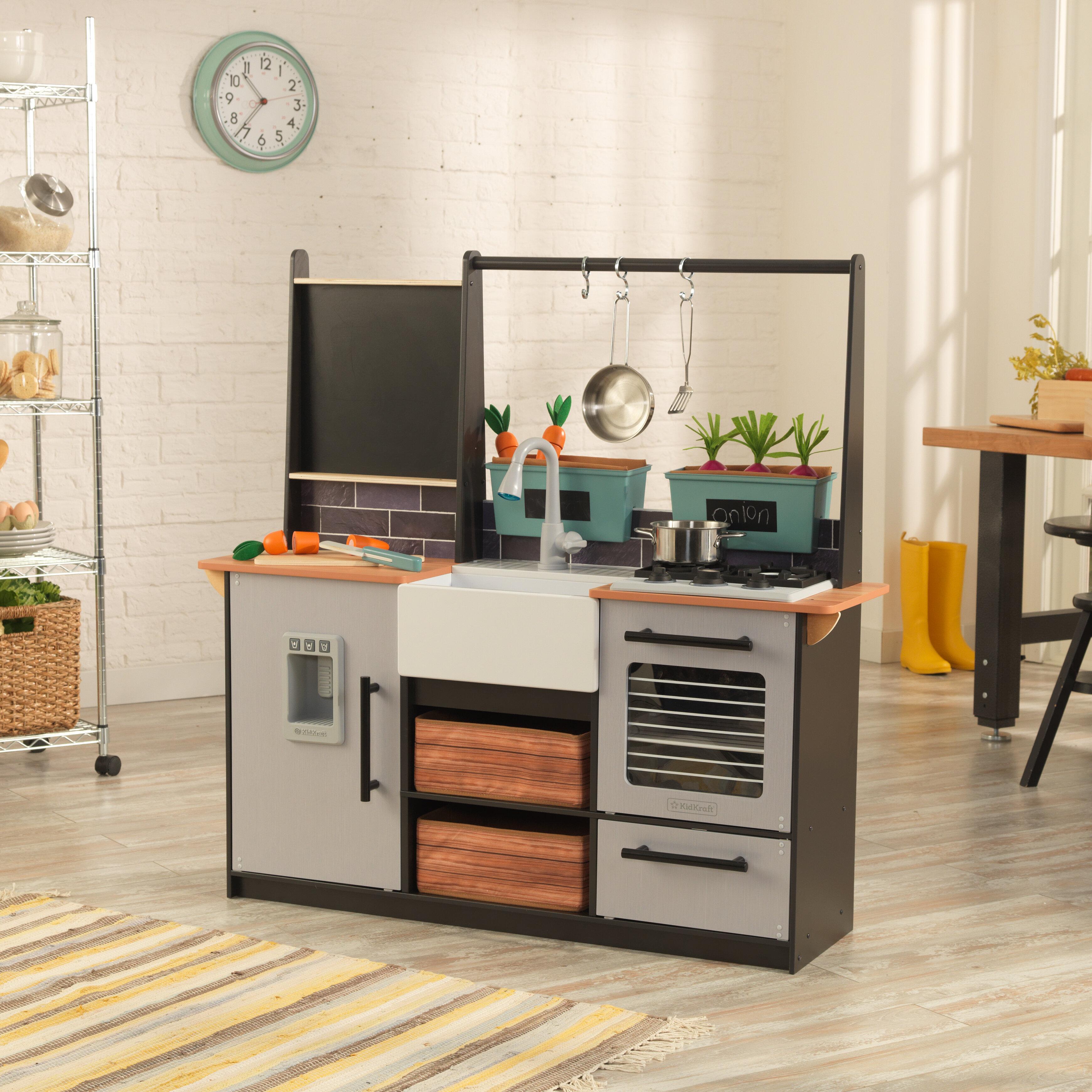 Kidkraft Farm To Table Play Kitchen Set Reviews Wayfair