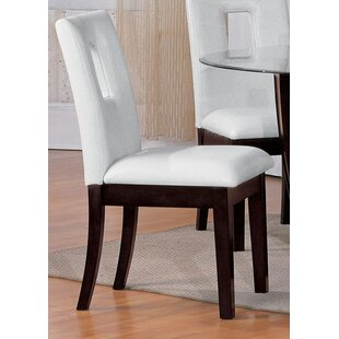 Breland Upholstered Dining Chair (Set of 2) World Menagerie
