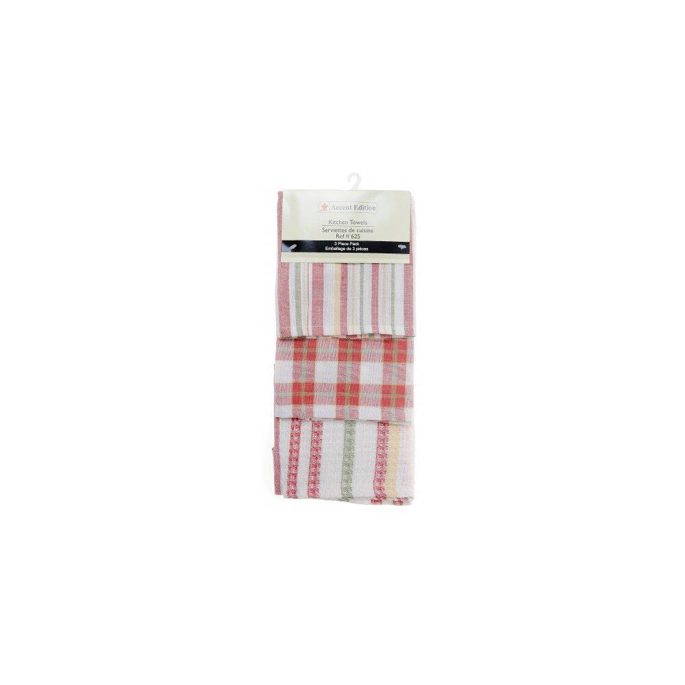 Mr Mjs Plaid 3 Piece Tea Towel Set Wayfair