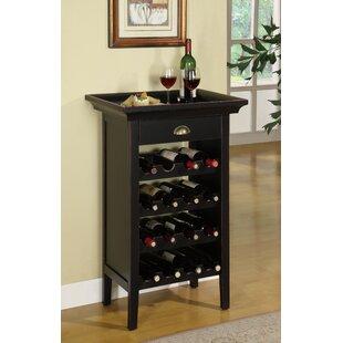 Charlton Home Stapleford 16 Bottle Floor Wine Rack
