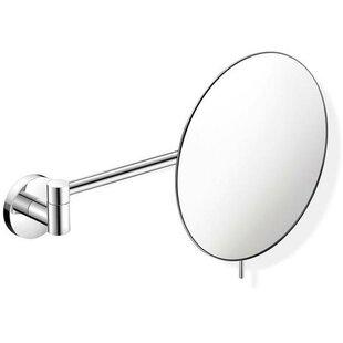 Symple Stuff Korman Round Adjustable Makeup/Shaving Mirror