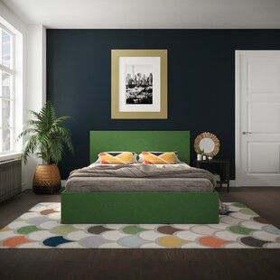 Kelly Upholstered Storage Platform Bed by Novogratz Best