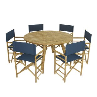 Whitson Bamboo 7 Piece Dining Set by Bay ..