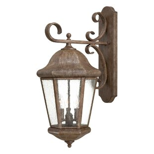 Best Reviews Taylor Court 3-Light Outdoor Wall Lantern By Great Outdoors by Minka