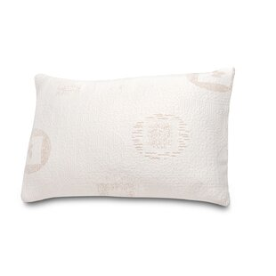Herbal Fusion Green Tea Memory Foam Queen Pillow