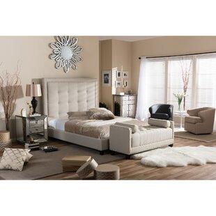 Wadsworth Upholstered Platform Bed by Brayden Studio