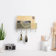 Gold Red Mail Key Wall Organizers You Ll Love In 2021 Wayfair
