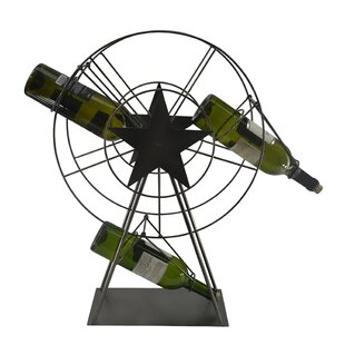 Ferris Wheel 1 Bottle Tabletop Wine Rack ..