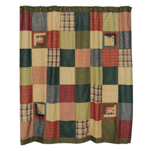 Annabelle Cotton Patchwork Shower Curtain By August Grove