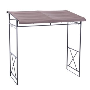 Lynne 7 Ft. W x 5 Ft. D Steel Grill Gazebo by Sunjoy