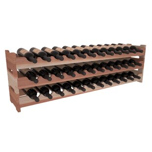 Karnes Redwood Scalloped 36 Bottle Tablet..