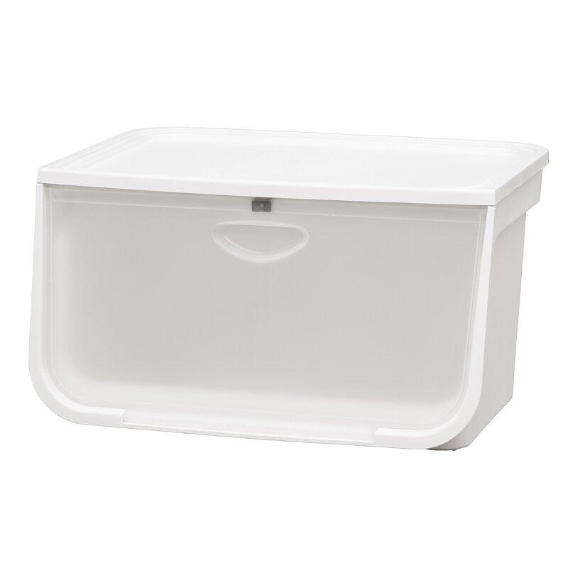Rebrilliant 49 Qt Plastic Box Wayfair Ca