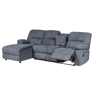 Shop Messenger Reclining Sectional by Latitude Run