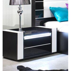 Nachttisch Lagos mit 1 Schublade