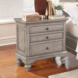 Musselman 3 Drawer Nightstand by Darby Home Co