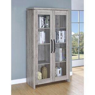 Union Rustic Paschke Wooden Curio Cabinet