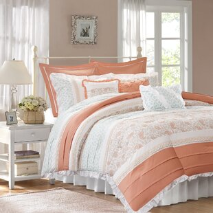 August Grove Chambery 180 Thread Count 100% Cotton Comforter Set