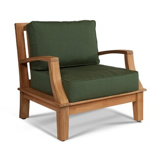 Dinardo Teak Patio Chair with Sunbrella Cushions