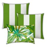 SantaCruz Hawaiian Mangroves Indoor / Outdoor Pillow