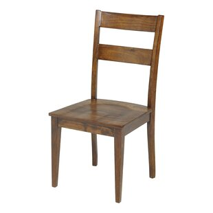 Gambino Solid Wood Dining Chair by Blooms..