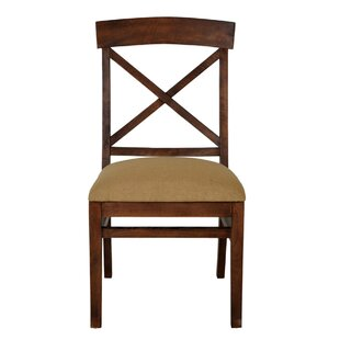 Moravian Solid Wood Dining Chair by August Grove