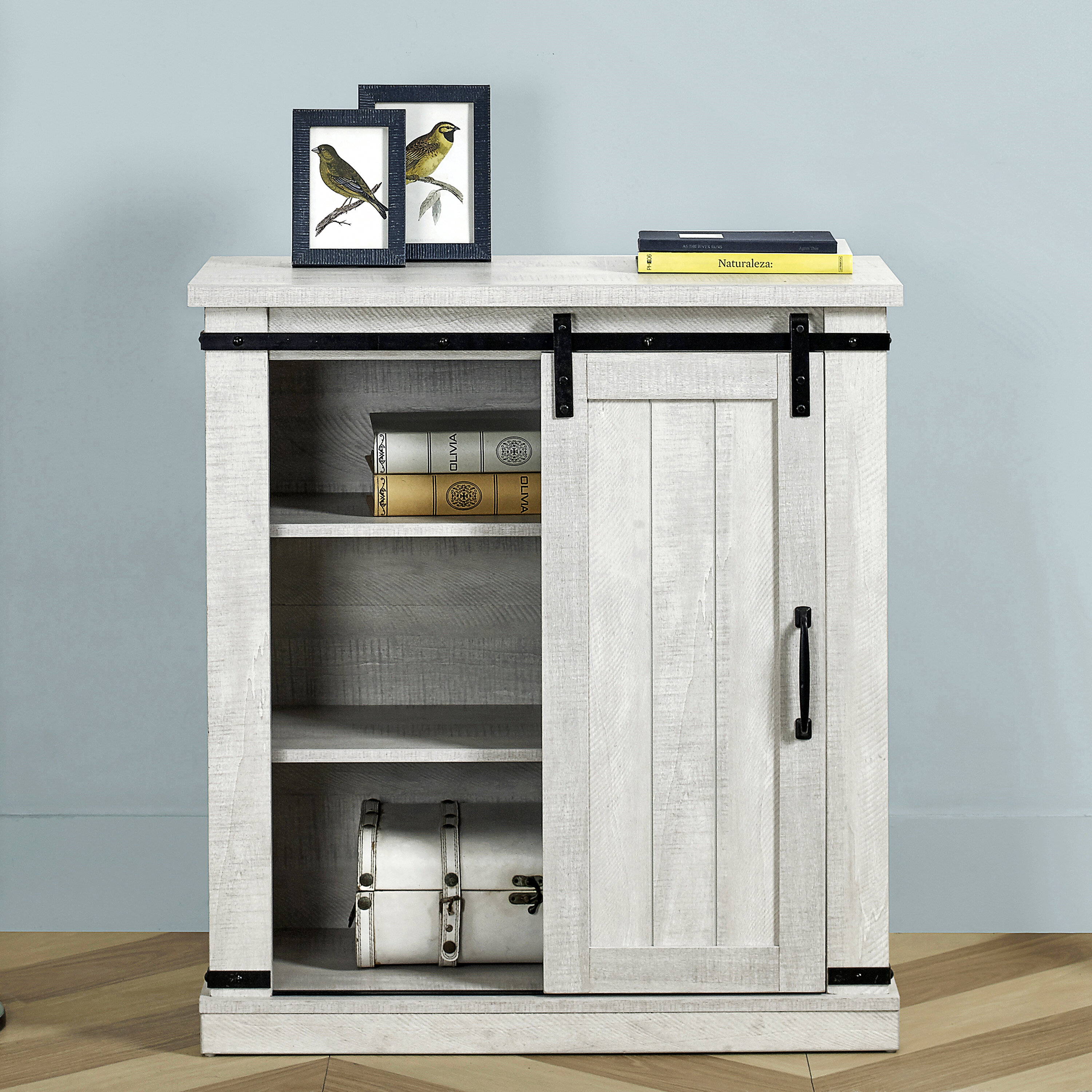 Gracie Oaks Plains Tv Stand For Tvs Up To 40 Reviews Wayfair