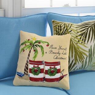 Ashworth Beachy Little Christmas Throw Pillow