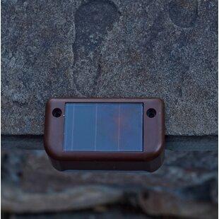 Solar-Powered 1 LED Deck Light Set (Set of 4)