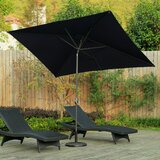 Dian 6.5 x 10 Rectangular Market Umbrella