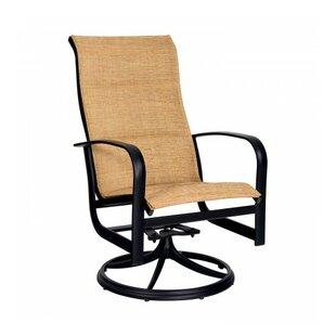 Fremont Swivel Patio Dining Chair by Woodard