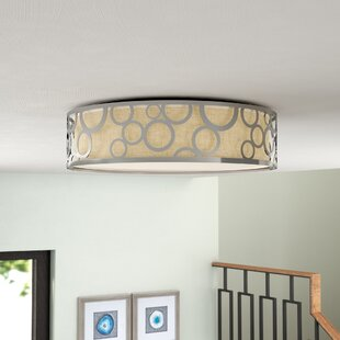 Best Choices Sergent 1-Light LED Flush Mount By Willa Arlo Interiors