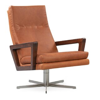 Arceneaux Leather Swivel Lounge Chair by Union Rustic SKU:DC204489 Guide