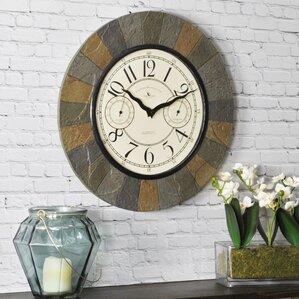 Photo Wall Clock large wall clocks you'll love | wayfair