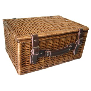 40cm Double Steamed Hamper By Beachcrest Home