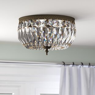Affordable Price Coblenz 3-Light Flush Mount By House of Hampton