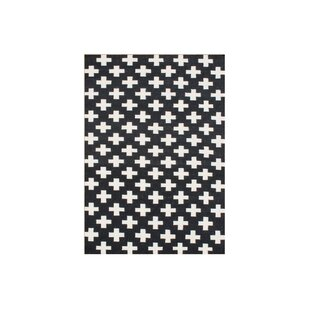Best Choices Aipril  Hand-Tufted Black Area Rug By Wildon Home ®