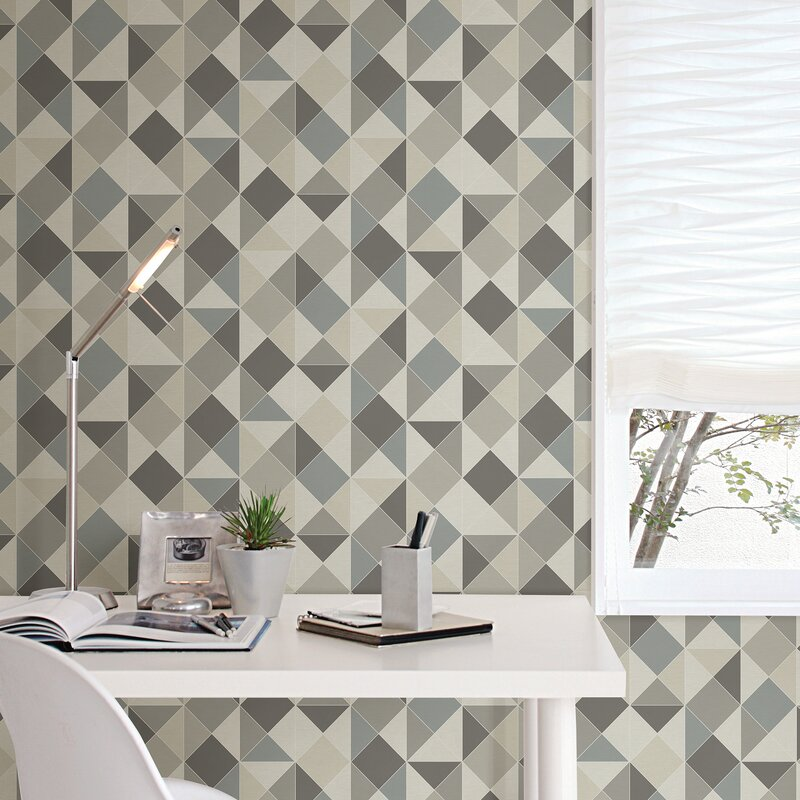 Wolter 18 L X 20 5 W Geometric And Stick Wallpaper