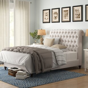 Hunstanton Upholstered Sleigh Bed by Birch Lane™ Heritage