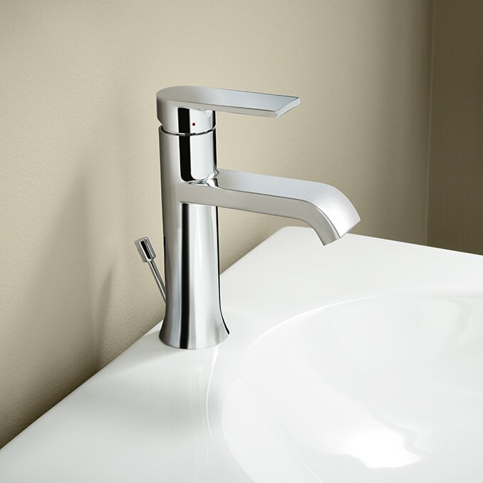 Moen Genta Single Handle Bathroom Faucet & Reviews | Wayfair