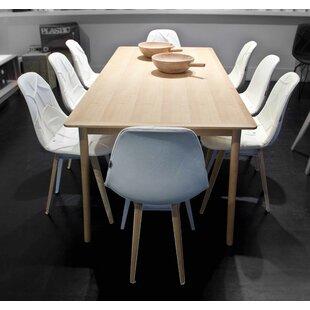 Slice Genuine Leather Upholstered Dining ..