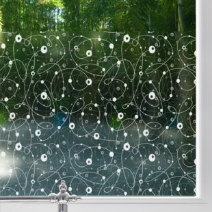 Atomic Retro Sheer Window Film by Stick Pretty