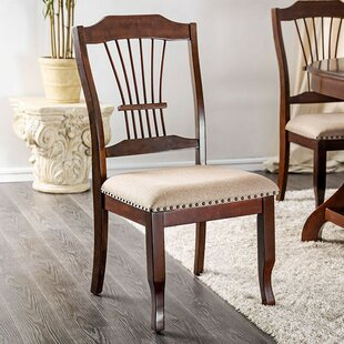 Minehead Dining Chair (Set of 2) Fleur De Lis Living