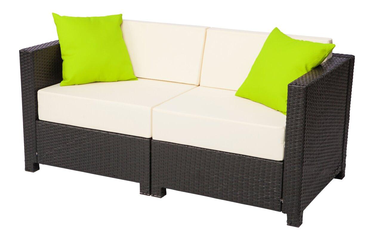 Red Barrel Studio Farquhar Patio Chair with Cushions