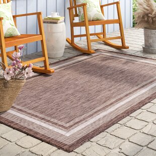Hightower Brown Indoor/Outdoor Area Rug