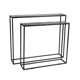 2 Piece Console Table Set (Set Of 2) By Bloomsbury Market