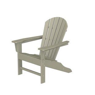 South Beach Plastic Adirondack Chair