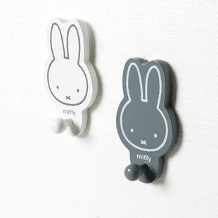 Miffy 2 Piece Wall Hook Set By Roba