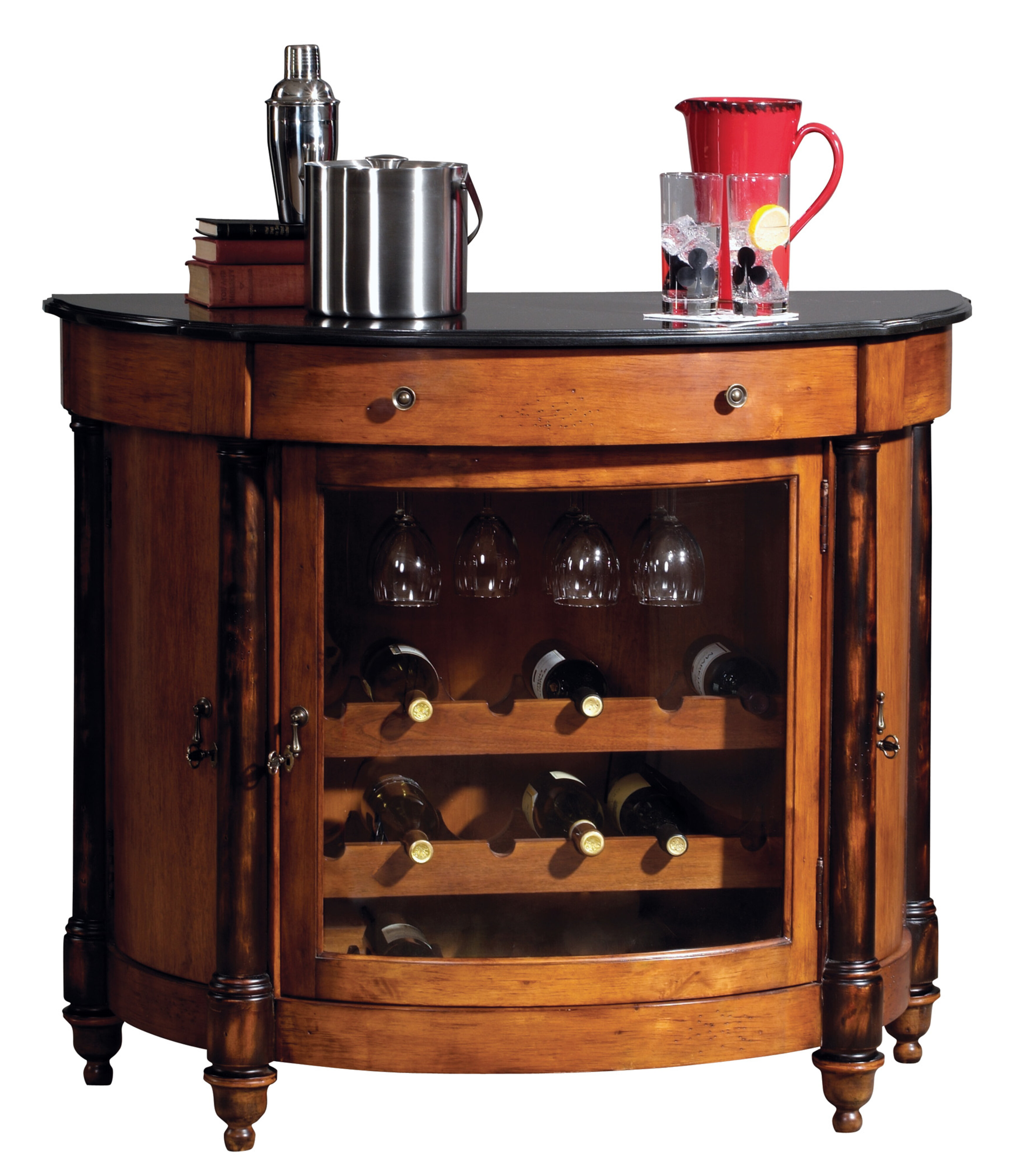 Darby Home Co Branton Bar Cabinet Wayfair