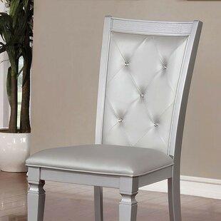 Elmer Upholstered Dining Chair (Set of 2) by Rosdorf Park
