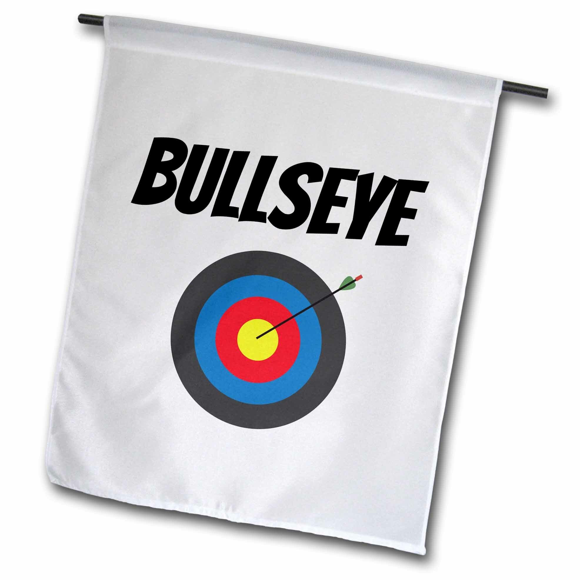 Target 5/' x 3/' Bullseye Flag